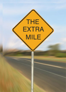 Rainmaking Recommendation #74:  Go the Extra Mile