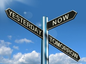 Rainmaking Recommendation # 109:  Yesterday is Not Today