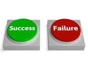 Success or Failure?  It's your choice.  (Image Courtesy of Freedigitalphotos.net/Stuart Miles)