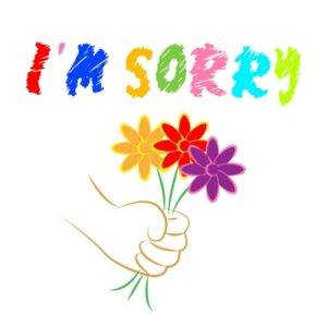 Rainmaking Recommendation #144:  Sorry Seems to Be The Hardest Word