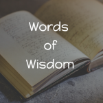 Rainmaking Recommendation #156: Sage Words Of Wisdom
