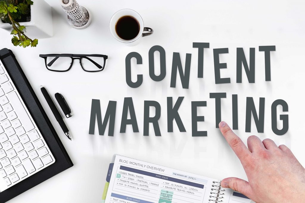 Content marketing is part of your overall rainmaking strategy.